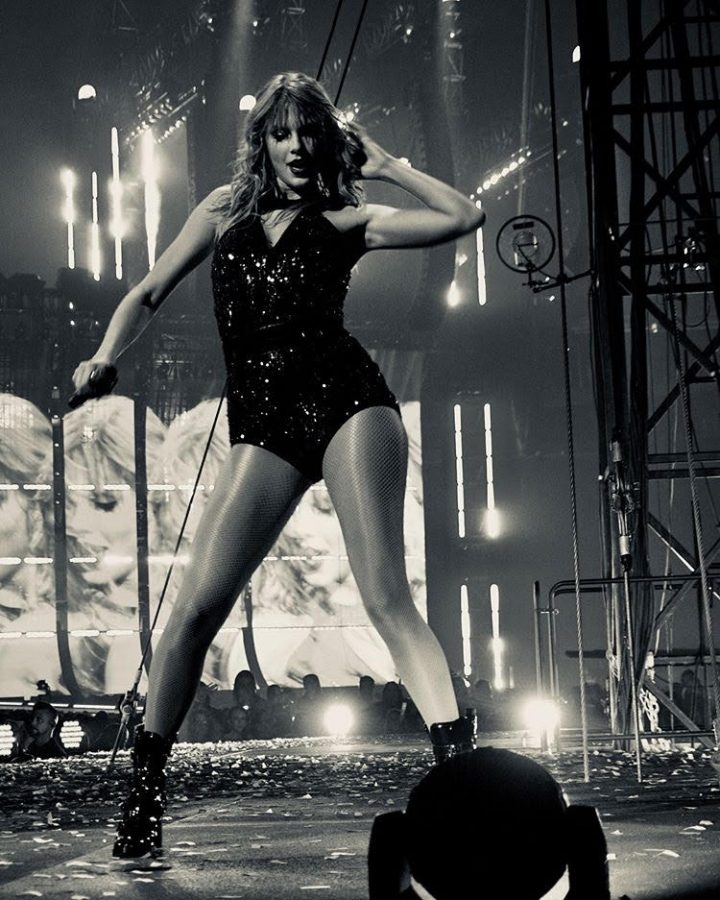 Taylor Swift in her element