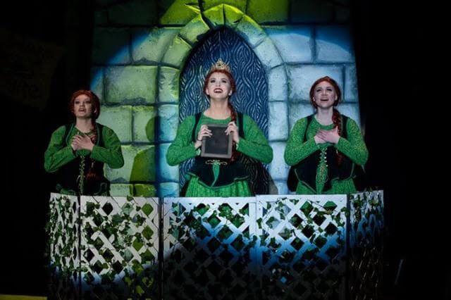 Sammie Bonko shines on stage as Fiona in Shrek