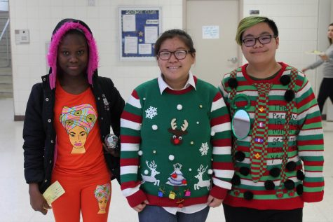 Holiday Fun at North on the Last Day before Vacation!