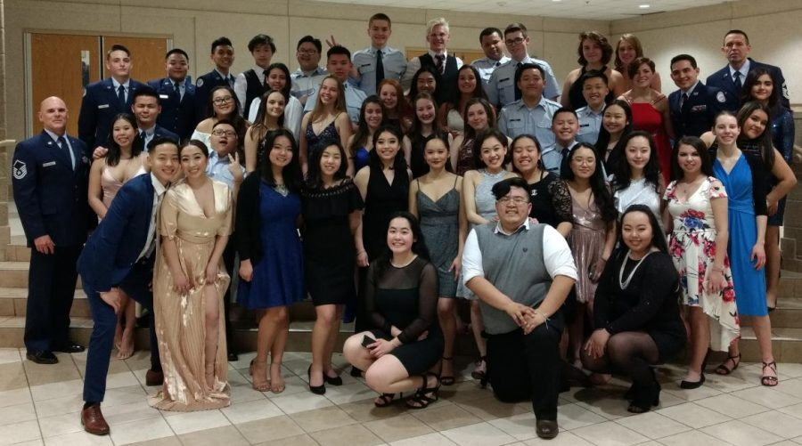 North Cadets Celebrate at Military Ball