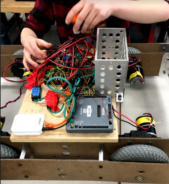 """Robotics """"gears up"""" for another successful season"""